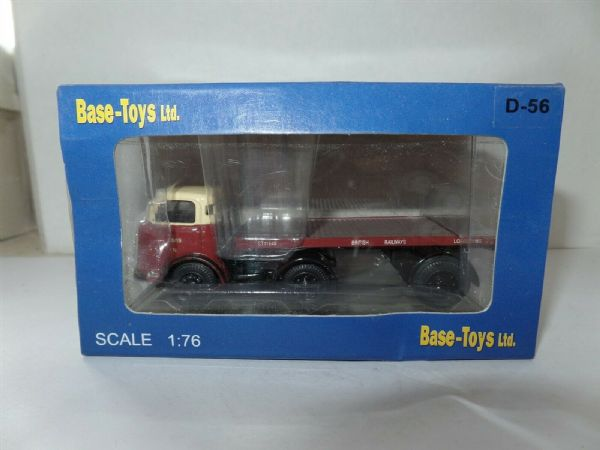 B T Models D-56  D56 KARRIER BANTAM ARTIC Flatbed BRITISH RAILWAYS